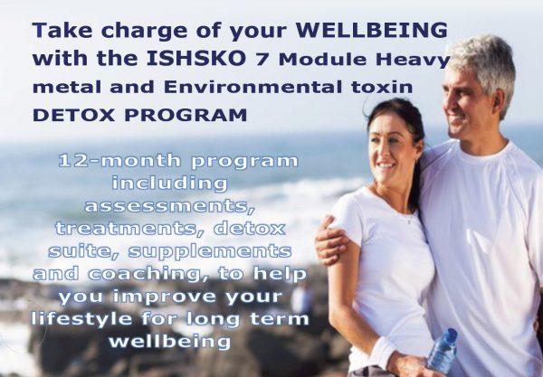 The Ultimate Heavy Metal and Environmental Toxins Detox Program from ISHSKO